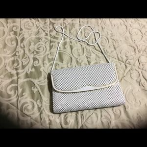 White Metal Evening Bag